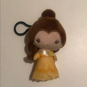 Disney Belle Plush Keychain